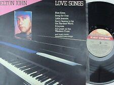 Elton John ORIG OZ LP Love songs EX '82 Rocket 6878217 Pop Rock