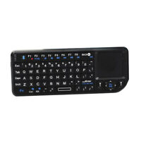Mini Bluetooth Wireless Keyboard Backlit Remote Touchpad For Windows 2000