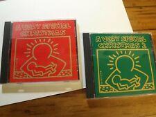 """A Very Special CHRISTMAS""- Discs 1 & 2- Eurythmics/U2/Pretenders/Tom Petty 1992"