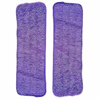 2 Serpilleres en Microfibre pour Balai Lave-Sol Pack Garantie de remplaceme M5O7