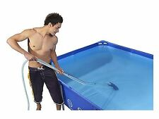 SWIMMING POOL SPA MAINTENANCE CLEANING KIT NET AND VACUUM SKIMMER