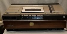 RARE Vintage Tested, Cleaned & Working SONY Betamax VCR SL-5400! BII & III Beta