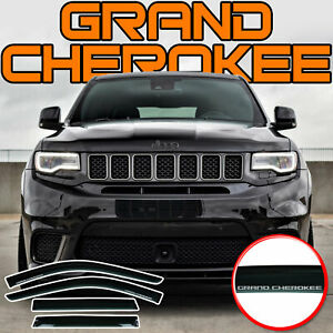Fits Grand Cherokee 2011-2021 Deflector Side Window Rain Visors Vent Shade Visor