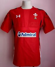 Wales 2013-2015 Home Rugby Under Armour shirt size XL