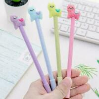 1pcs Kawaii Alpaca Black Gel Ink Roller Ball Point School Pen Kids Korean B6A3