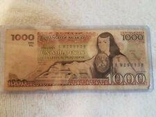 Madero BDM Bill 500 Pesos Note MEXICO BANKNOTE CIRCULATED 1984 Francisco I