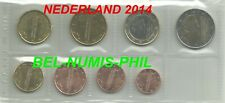NEDERLAND 2014 - 8 munten - Koning Willem-Alexander - UNC!!!