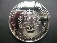 1972 PROOF CROWN HOUSED IN A NEW CAPSULE. 1972 PROOF CROWN COIN CAPSULED.