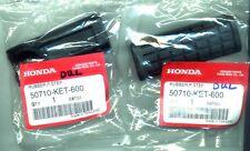 Honda Cbr 125 150 Cbr125r 04 -16 Genuine OEM Rear Pillion Step Rubber ONE PAIR
