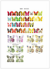 100pcs Flying Butterfly Magic freedom Special Party Gag Fly wedding inveteshion