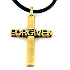 Necklace (Nwt) Forgiven Cross Brass