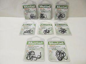 MUSTAD CARP XV2 WIDE GAPE / CHODDA SPECIAL CARP HOOKS - VARIOUS SIZES