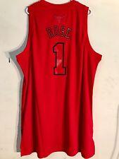 Adidas Swingman NBA Jersey Chicago Bulls Derrick Rose Red X-Mas Blk Let sz XL