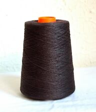 100% natural linen yarns, 1.1 lb / 500 grams cone