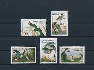 LO56715 Dominica 1986 Audubon animals birds fine lot MNH