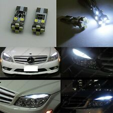 2x 8 SMD LED No Error Parking Light For Mercedes W164 ML350 ML550 ML63 X204 GLK