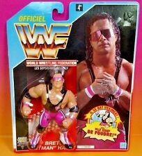 Brand New Sealed Bret Hitman Hart Titan Hasbro Wrestling Figure WWE WWF Rare