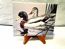 1994 STATE DUCK  STAMP PRINT MALLARDS by Neal Anderson, SIGNED AND DATED/STAND
