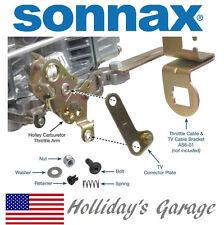 Holley Carburetor TV Cable Corrector Bracket 700R4 4L60 2004R Ford AOD SONNAX