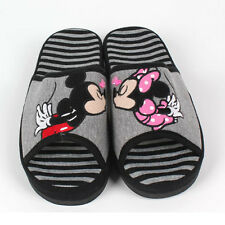 Disney Mickey Mouse & Minnie Mouse Cute Lovely Couple Indoor Slippers Home Sheos