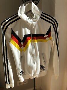 Adidas Retro Jacke Deutschland WM 1990 - Rarität - 100% Original - Top Erhalten