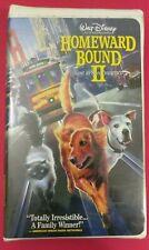 Walt Disney - Homeward Bound II Lost in San Francisco - VHS