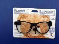 Build a Bear Teddy Bear Accessory - Black Frame Rimmed Glasses - New