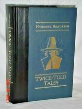 TWICE TOLD TALES NATHANIEL HAWTHORNE 1989 HARDCOVER READERS DIGEST ILLUSTRATE VG