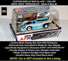 Custom Display Case FALLER AFX #1879 PORSCHE 917  EU #2