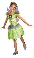 Tinkerbell Rainbow Child Girls Costume Dress Princess Fairy Peter Pan Halloween