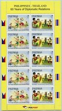 Philippinen 2009 Gemeinschaftsausgabe Thailand Tanz 4232-4233 Kleinbogen MNH