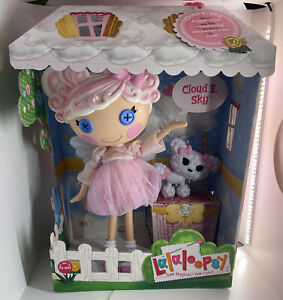 """LALALOOPSY LITTLES CLOUD E SKY DOLL 13"""" BIG SISTER 10TH ANNIVERSARY 2021 POODLE"""