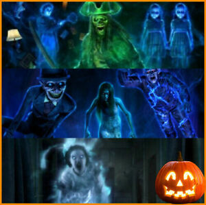 2021 Halloween Ghostly Apparitions 1+2+3 Decor AtmosFx Decorations Projector 🎃