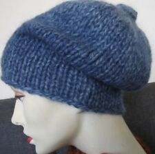 Handmade hats in a blend of wool/mohair/acrylic- size S/M