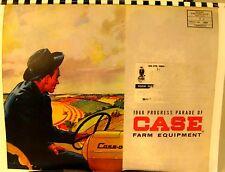 1960  J.I. Case  Progress Parade Of Case Farm Equipment  Sales Book Full Color