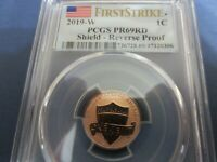 2019. W - Lincoln Cent Proof PCGS PR69RD REVERSE  FIRST STRIKE