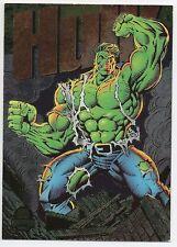 Hulk 1994 Marvel Universe - Power Blast Insert Card - Fleer - 5 of 9 - Near Mint
