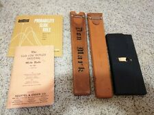 LOT VINTAGE B K Elliott Co Pittsburgh Compass DRAFTING SUPPLIES/TEMPLATE SCALES