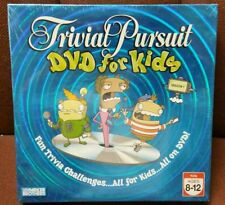 Trivial Pursuit DVD For Kids 2-6 Players Ages 8-12 Fun Trivia Sealed Brand New