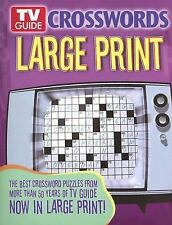 TV Guide Crosswords Large Print: The Best Crossword Puzzles from More Than 50 Ye
