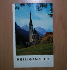 ### Heiligenblut - Kellner Bilderführer ### Farbaufnahmen von A. Kellner ###