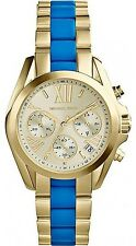 Michael Kors Women's Bradshaw Gold Stainless-Steel Quartz Fashion Watch MK5908