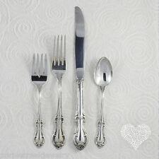 International Silver JOAN OF ARC Vintage Sterling Silver Flatware Place Set 168