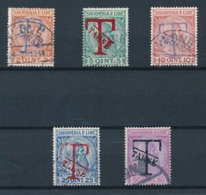 [31695] Albania 1914 Good postage due set Very Fine used stamps