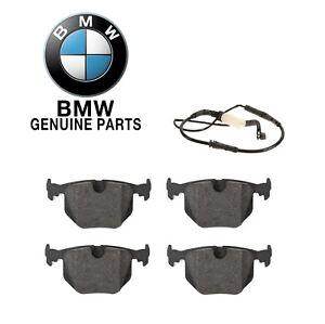 For BMW E60 E61 525i 535i Set of Brake Pads w/ Wear Genuine 34-21-2-339-290