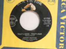 Johnny Restivo 45 CAN'T TAKE IT / THAT'S GOOD THAT'S BAD ~ VG+ to VG++