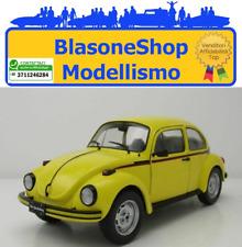 Maggiolino VW Maggiolone 1303 Sport 1:18 Volkswagen 1974 Giallo Solido 🤩🤩