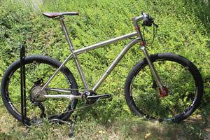 TiAtom/Titanium Frame Bike Bicycle MTB I GR9 Ti3Al2.5V Custom