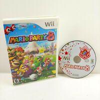 🔥 Mario Party 8 - Nintendo Wii / Wii U - Complete CIB Tested