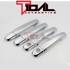 Tidal Chrome Door Handle Cover Trims w/ Keyhole For Toyota Corolla RAV4 Yaris